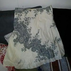 Jump white skirt